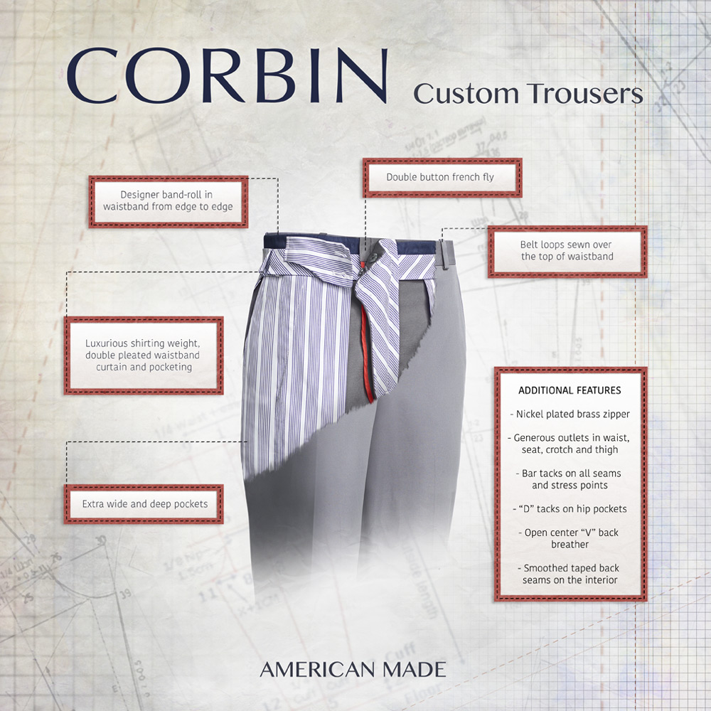 Corbin Trousers
